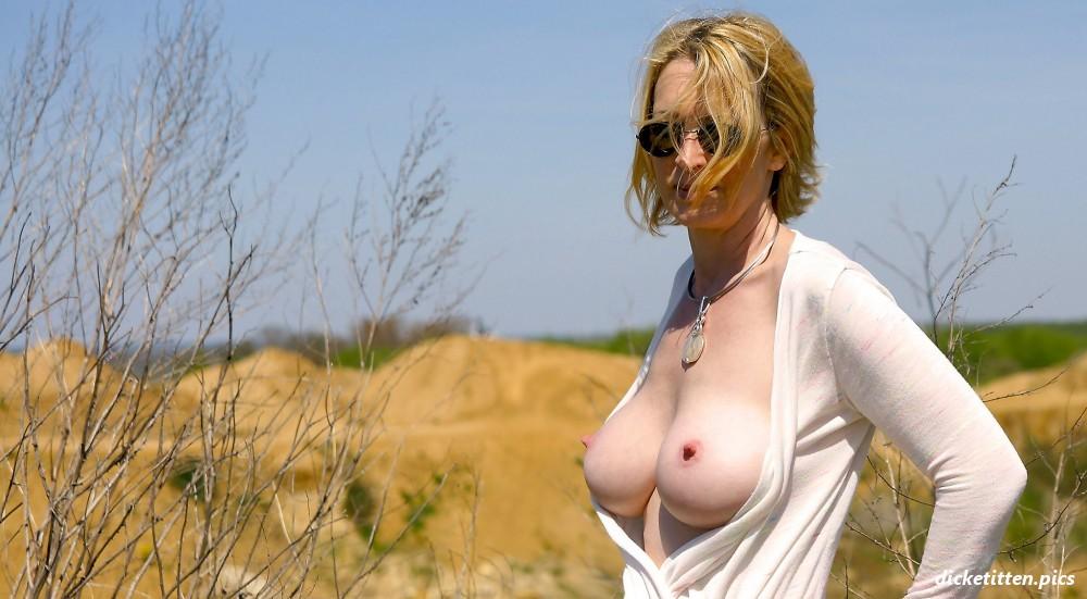 Outdoor Titten